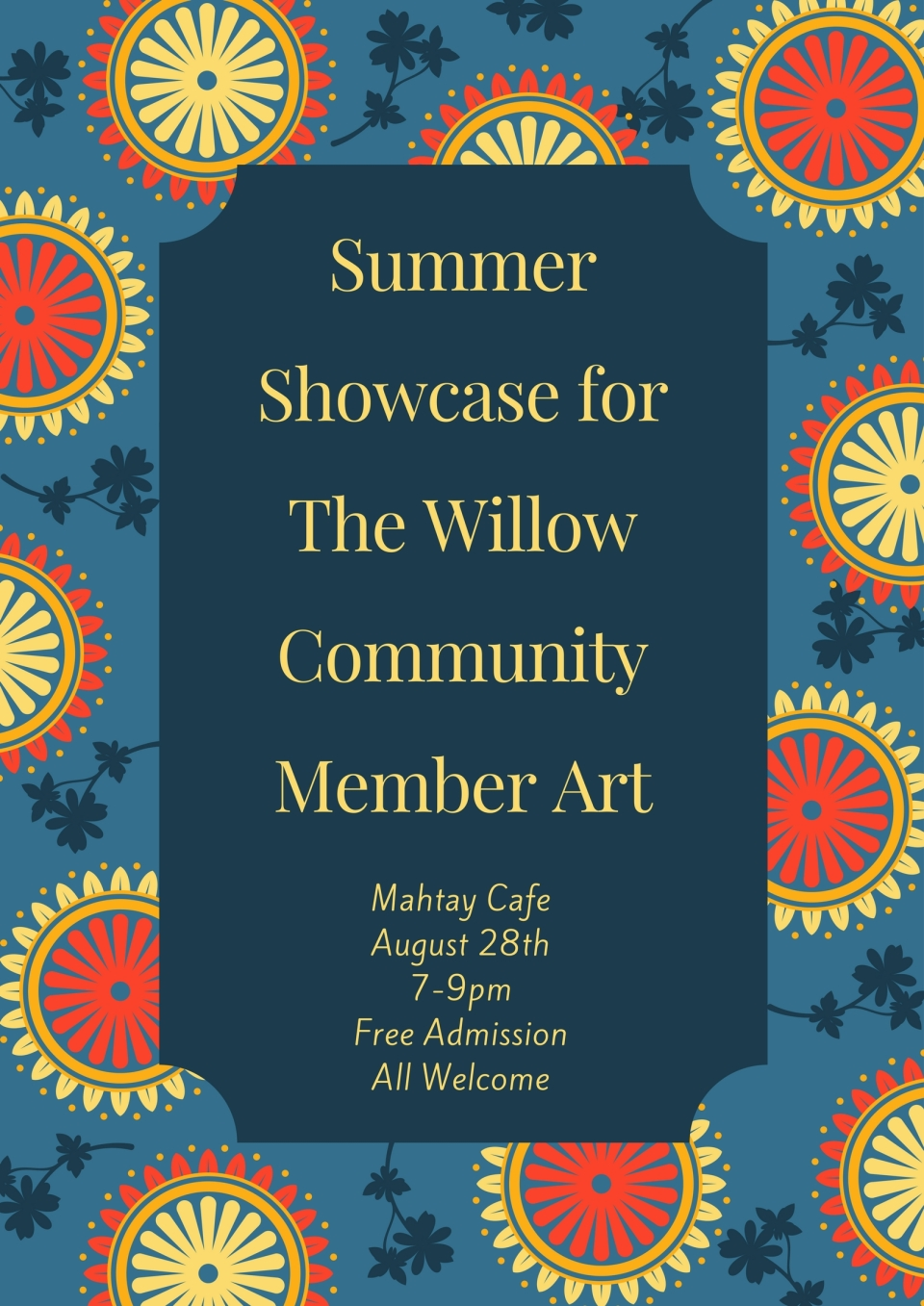 Summer Showcase for The Willow Community